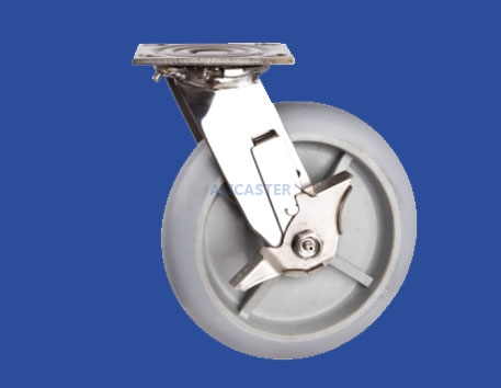 33 stainless steel heavy duty caster-33-4020-2141-SLB1