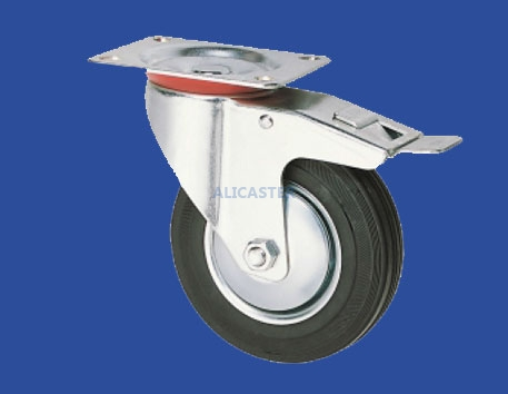 90 Industrial Rubber/PP/PU/PA Casters-94-3020-3361TTB4
